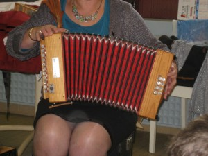 l'accordéon